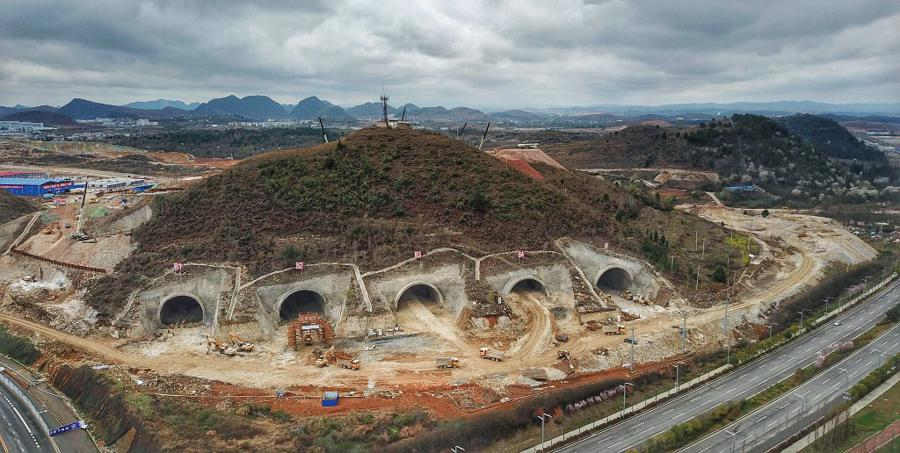 China and Huawei move data centres into hollowed-out hills