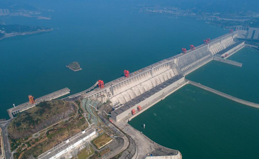Flood alert at Three Gorges Dam