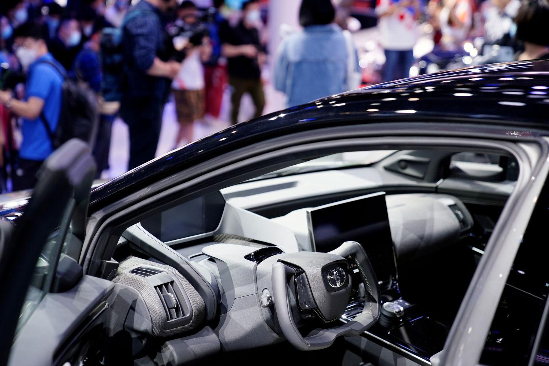 Toyota notches record sales despite semiconductor shortage
