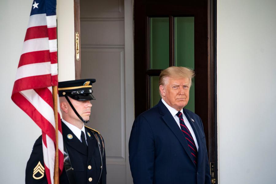 Trump says Oracle close to TikTok deal
