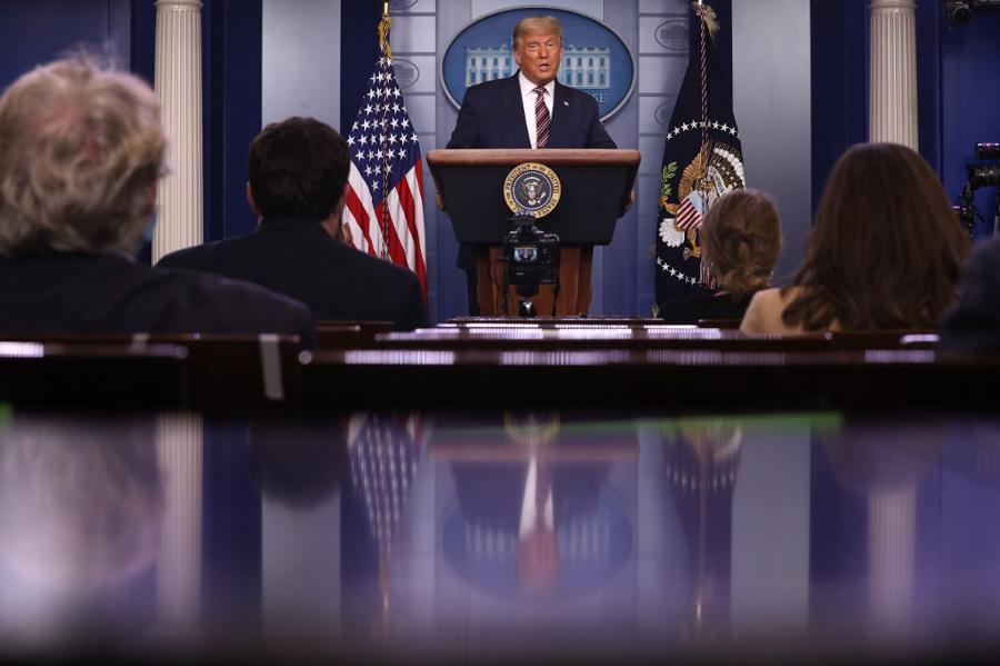 Trump erupts as Biden closes in on US presidency