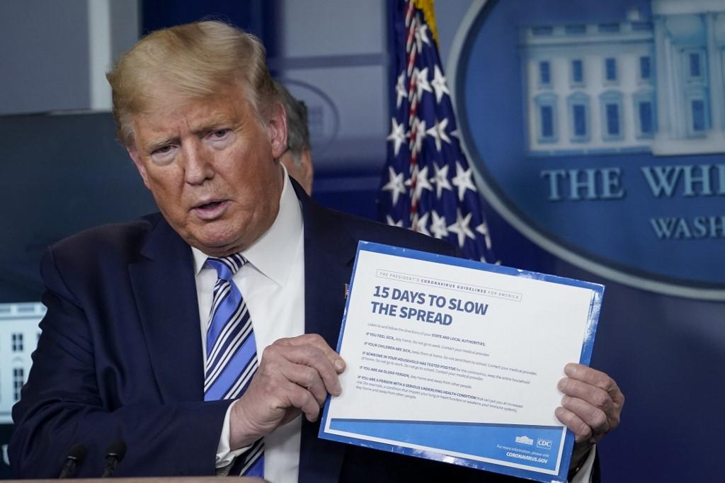Trump says evidence ties China lab to virus