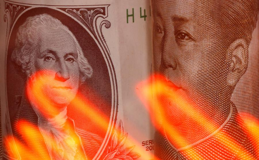 US anti China rhetoric keeps investors on edge