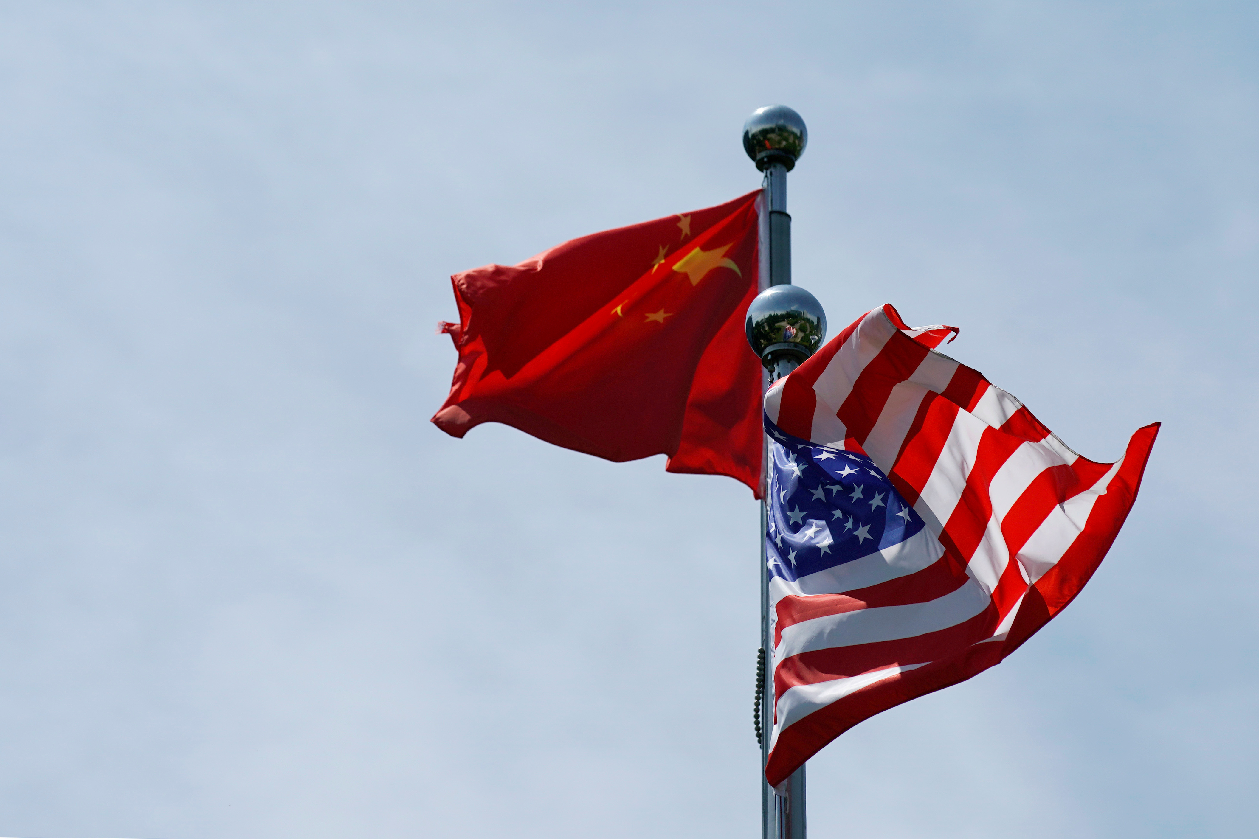 US sticking to Trump's China trade playbook for now