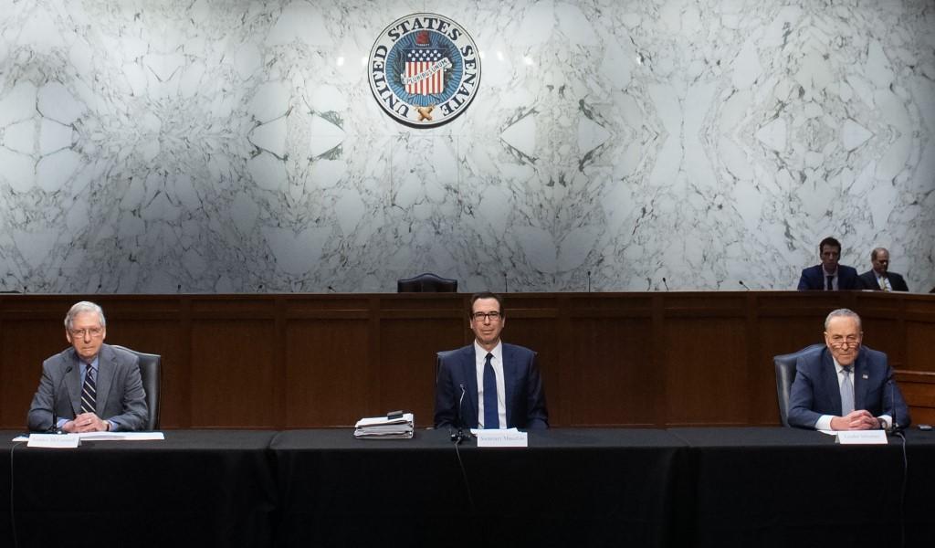 $1-trillion US economic rescue package crashes in Senate