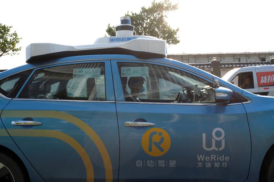 China's WeRide heats up autonomous vehicle race