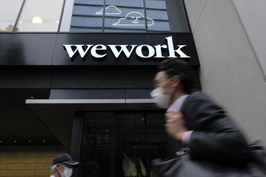 WeWork says back on track to profits