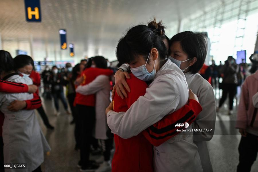 Wuhan lifts outbound travel restrictions
