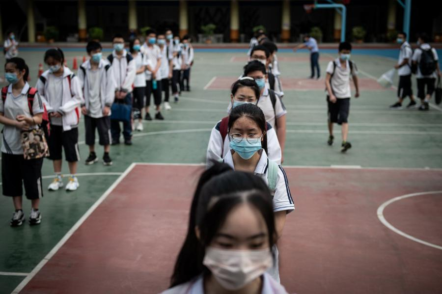 Haunted by virus, China gears up for annual congress