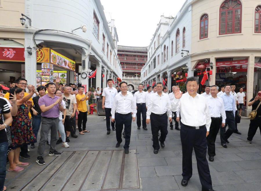 China's Xi praises Shenzhen, backs property rights