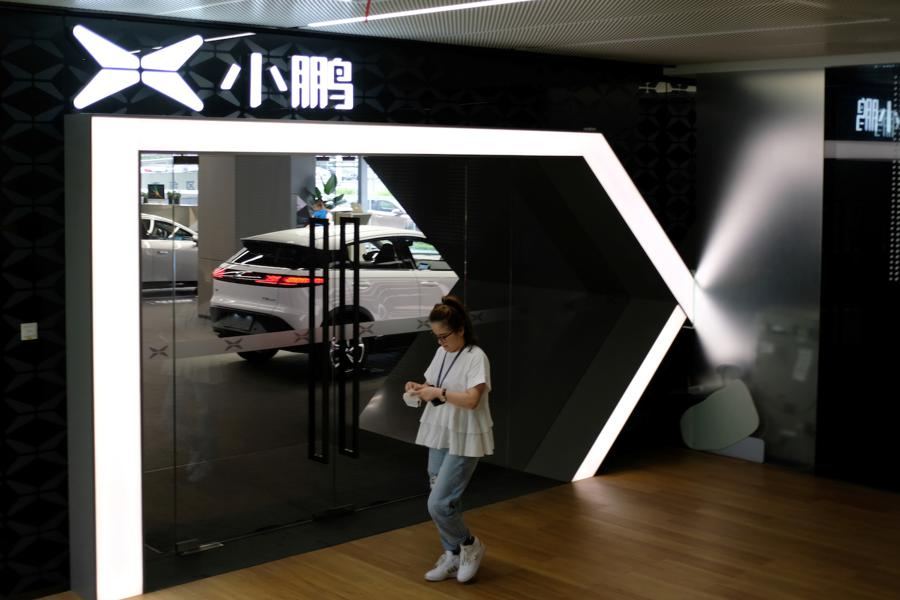 Chinese electric carmaker bucks trade war trend by applying for US listing