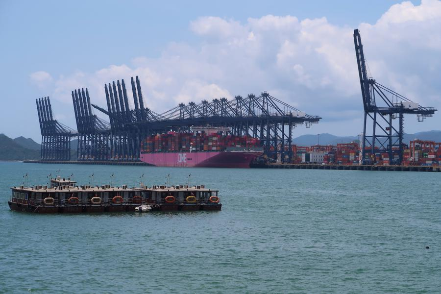 China's exports jump as economies reopen, but imports slip