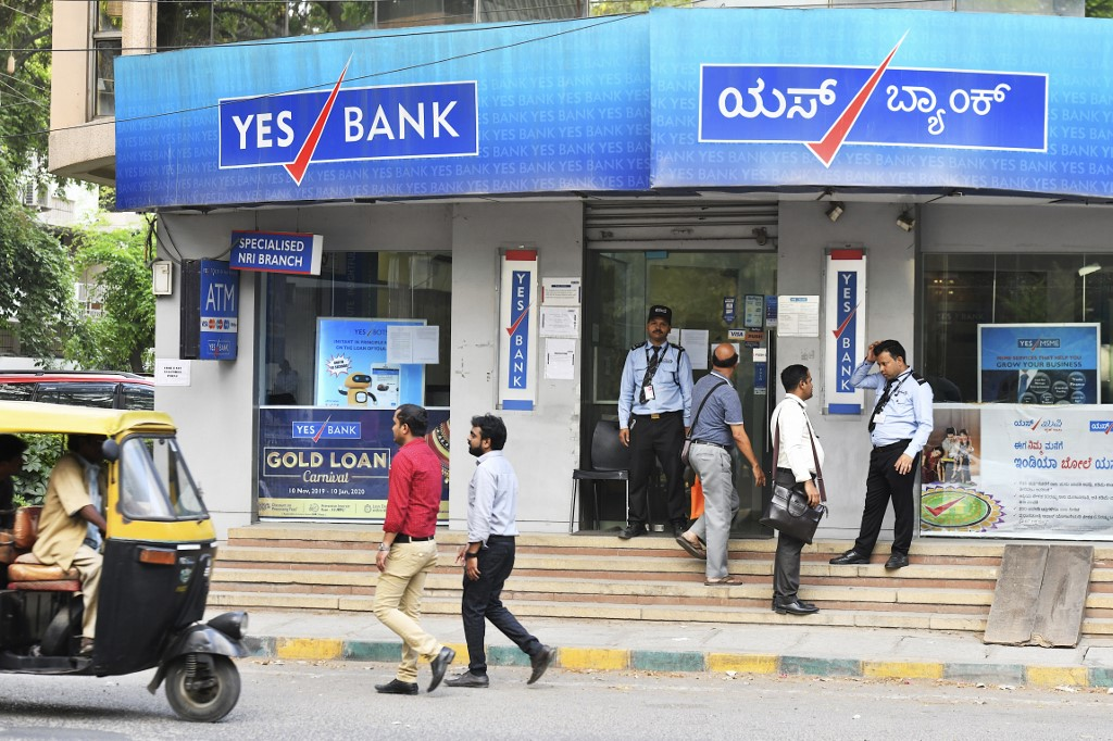 India's Yes Bank posts big loss after rescue plan backed
