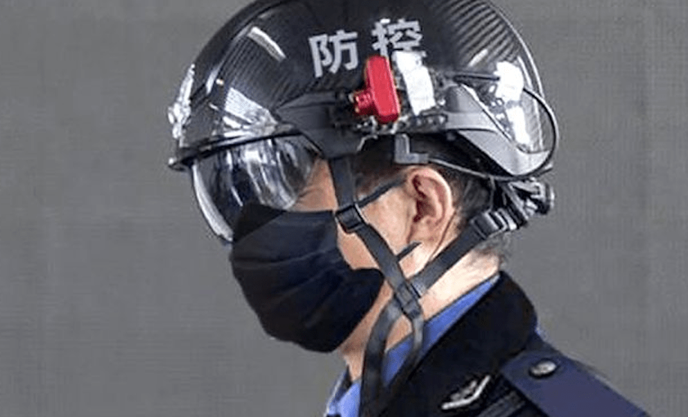 Tech firm says smart helmet can detect fevers