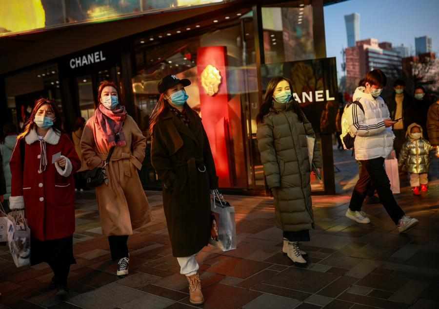 Retail spending surges as China celebrates Lunar New Year online