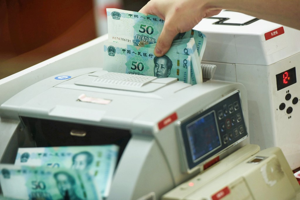 China's central bank injects 50bn yuan into banking system