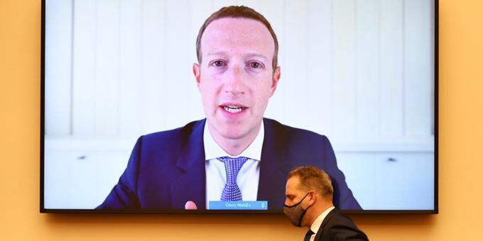 Lawmakers pummel Big Tech CEOs at US anti-trust hearing