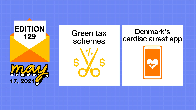Tax schemes and Denmark's cardiac arrest app
