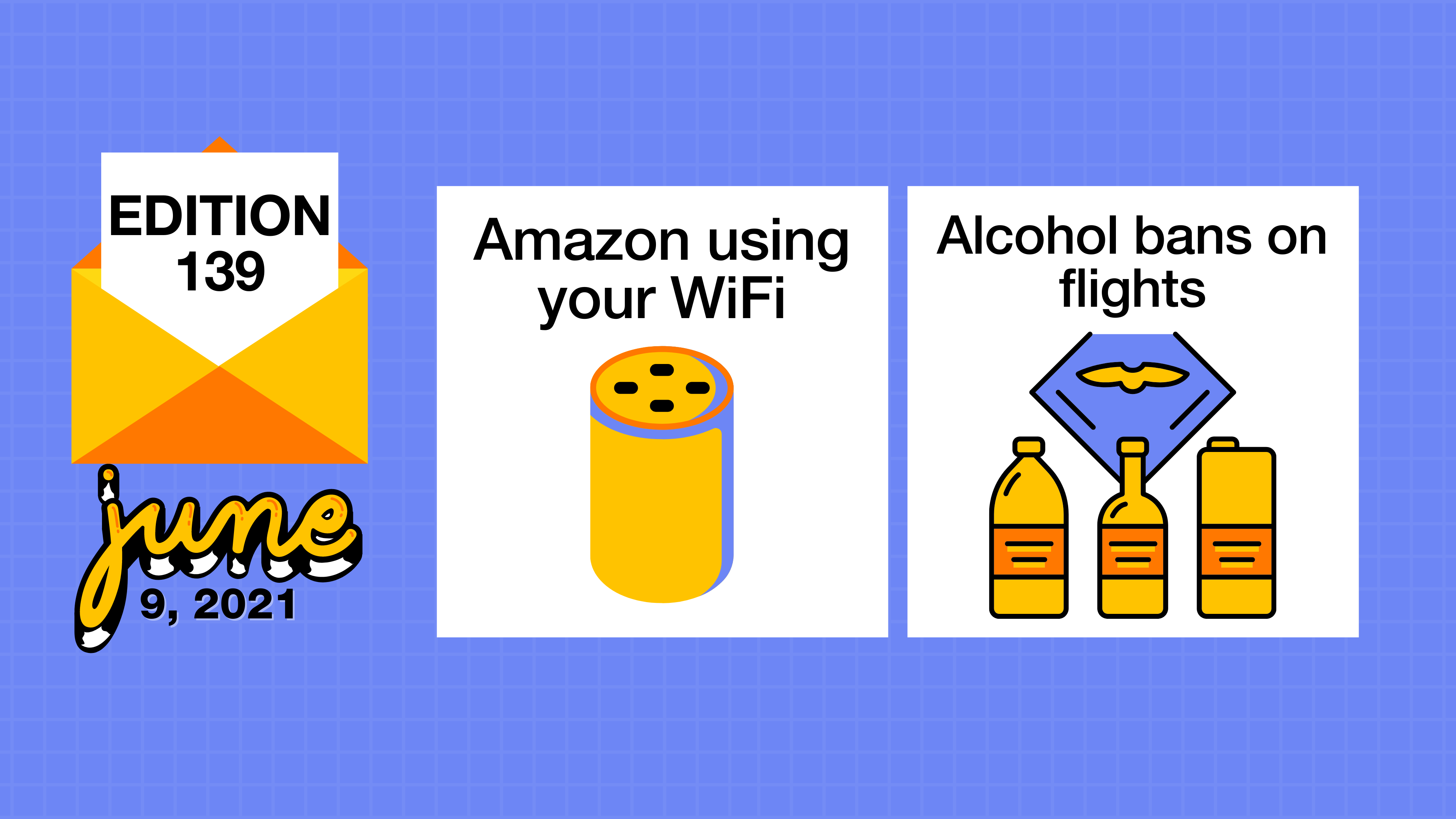 Amazon using your WiFi and potential alcohol bans on flights