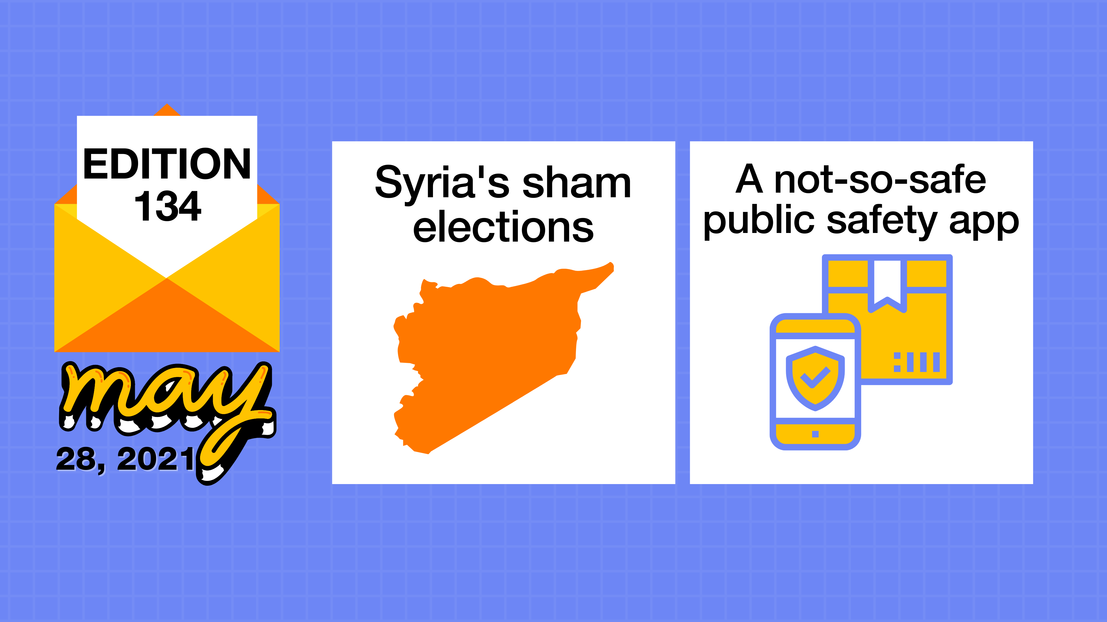 Syria's illegitimate elections and a not-so-safe safety app