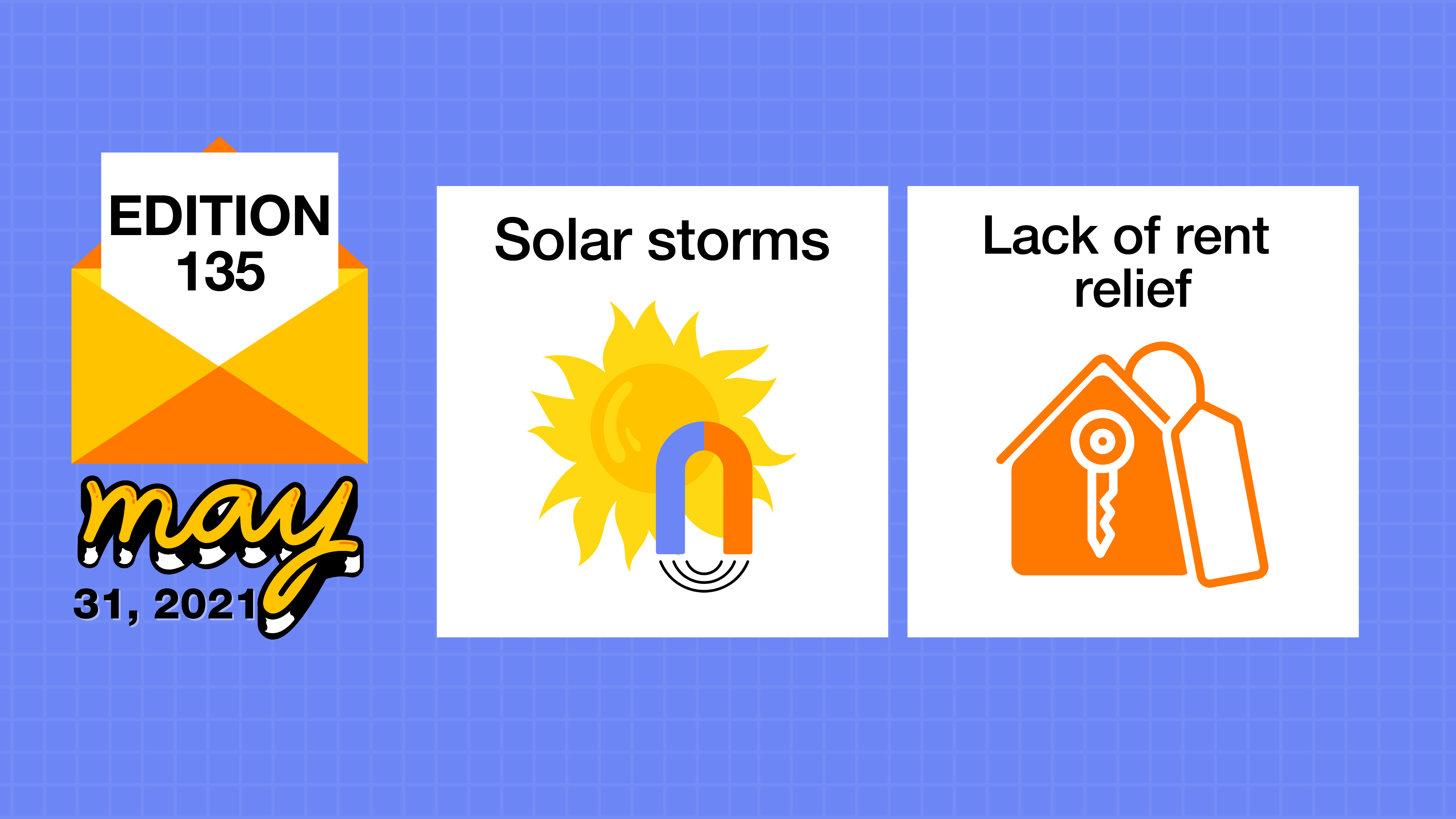 Solar storms and the lack of rent relief
