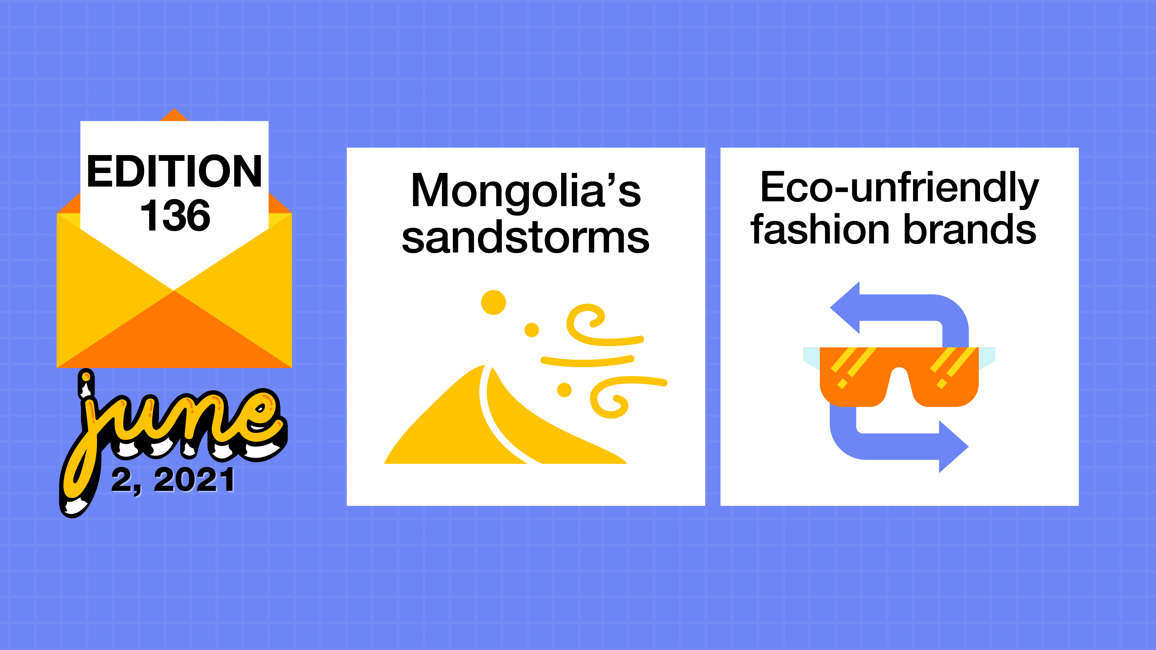 Mongolia's sandstorms and eco-unfriendly fashion brands