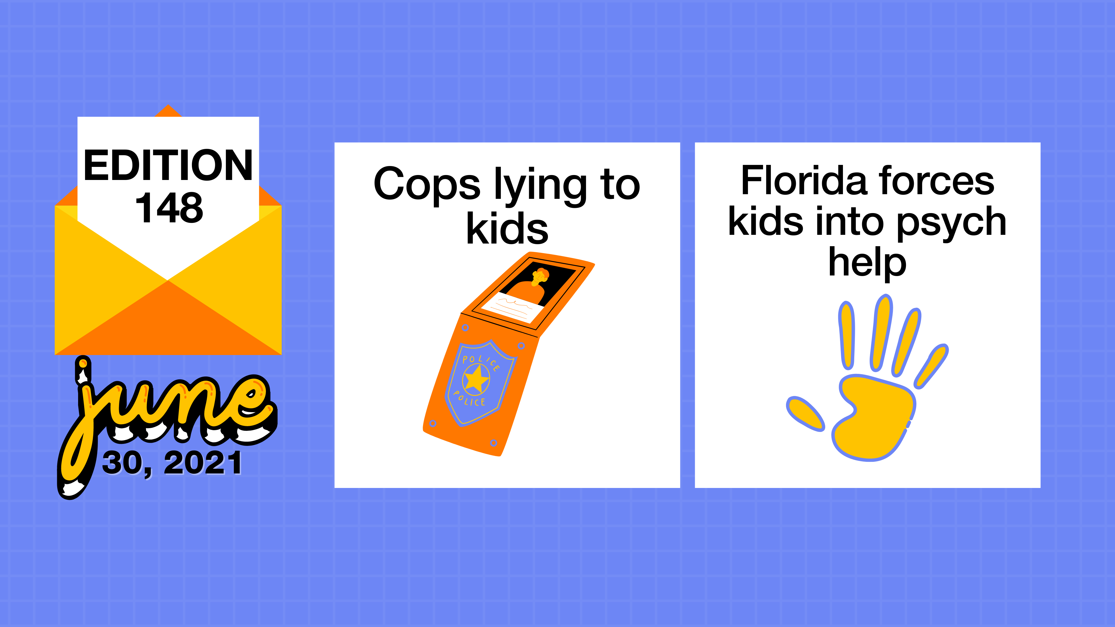 Cops lying to kids and Florida forces kids into psych help