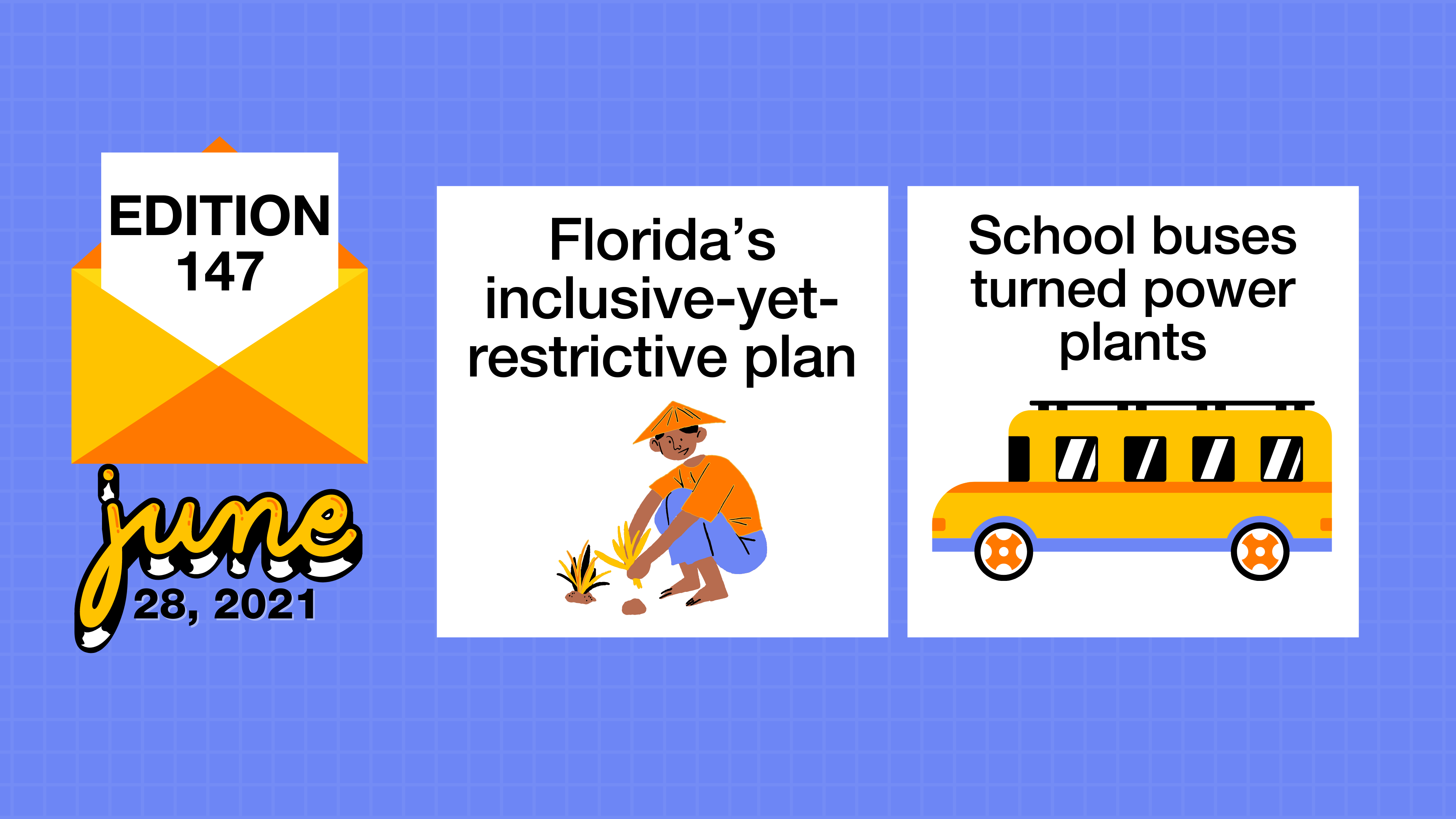 Florida's inclusive-yet-restrictive plan and school buses turned
