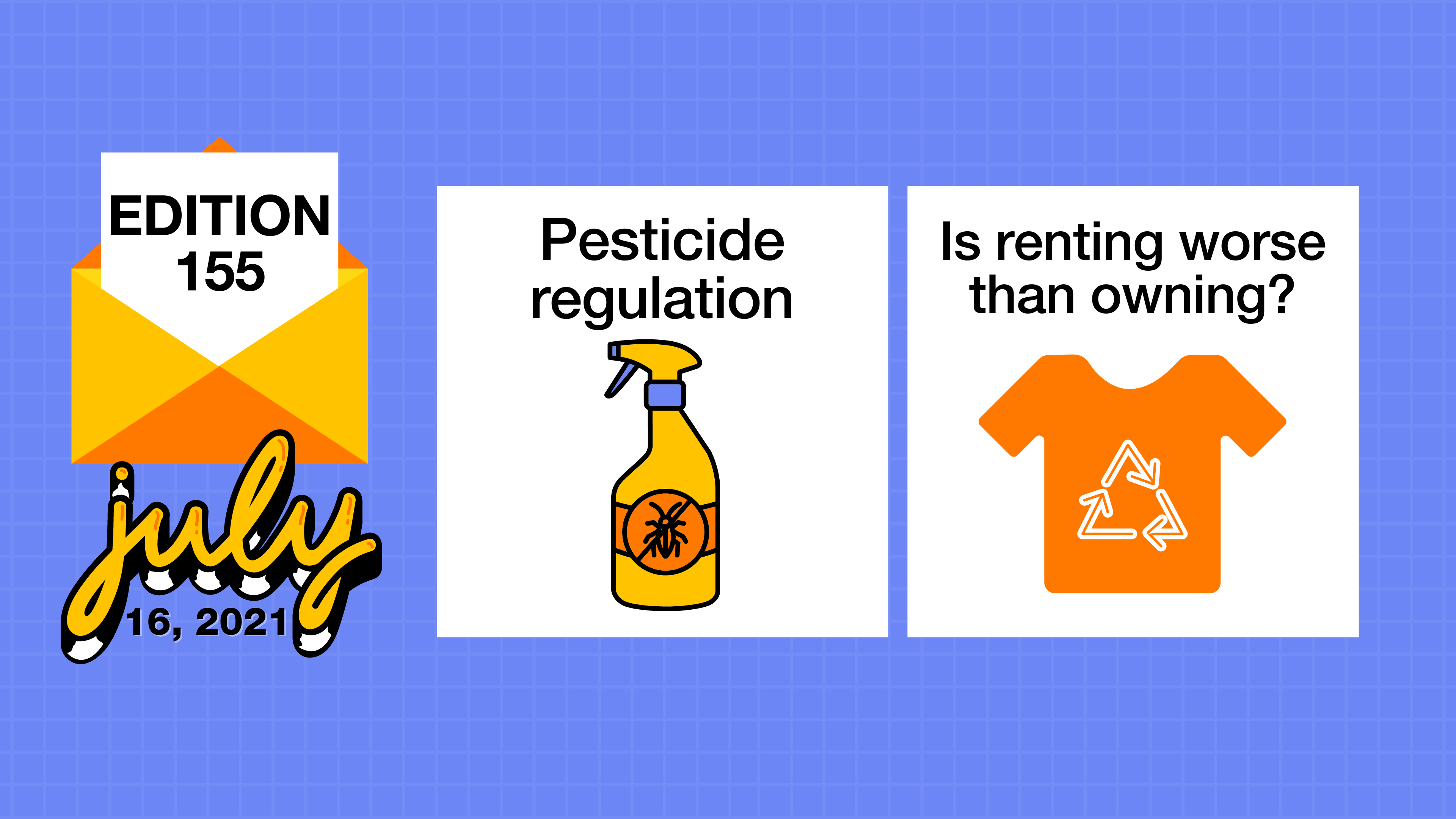 Questionably regulated pesticides and not so eco-friendly fashion