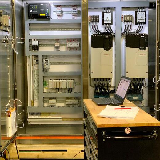 Control panel testing & design