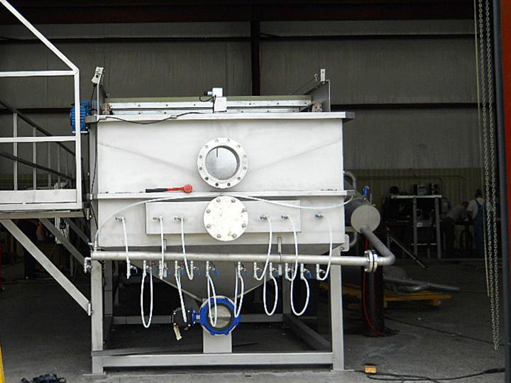 A bioprocessH2O Dissolved Air Flotation (DAF) System