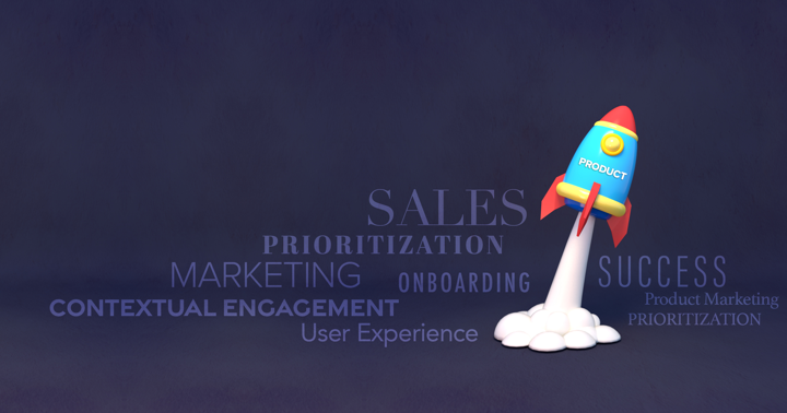 What is product-led sales banner