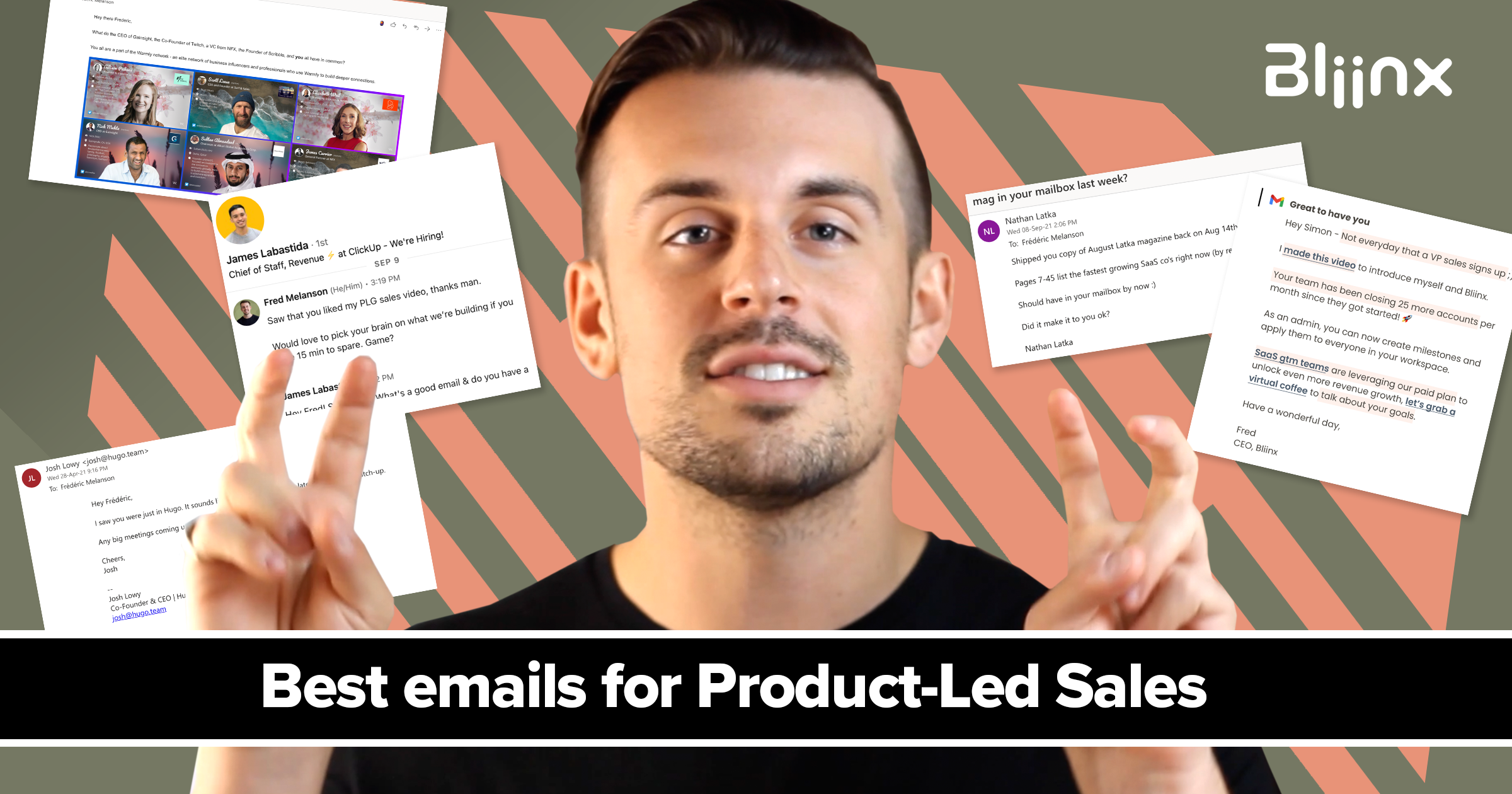 Best emails for product-led sales
