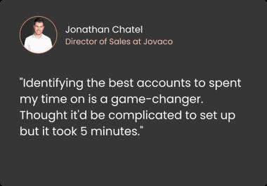 Jonathan Chatel testimonial