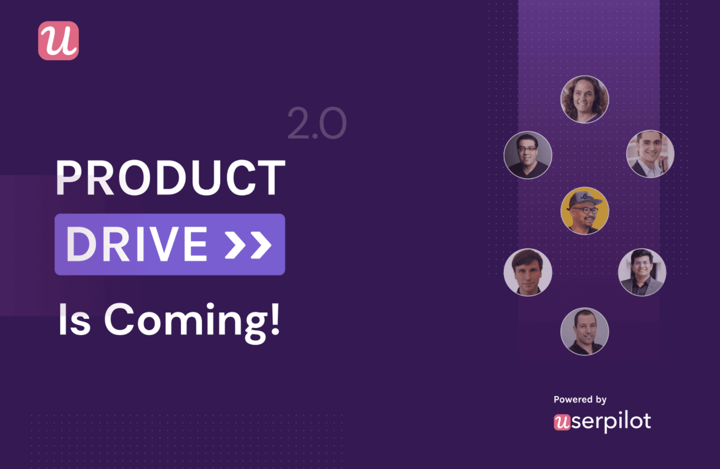 Product drive banner