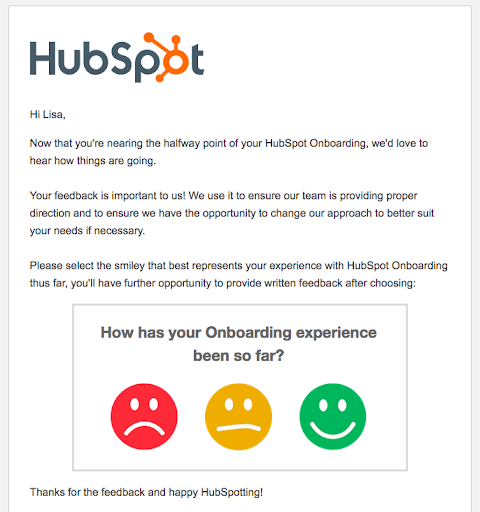 Hubspot survey