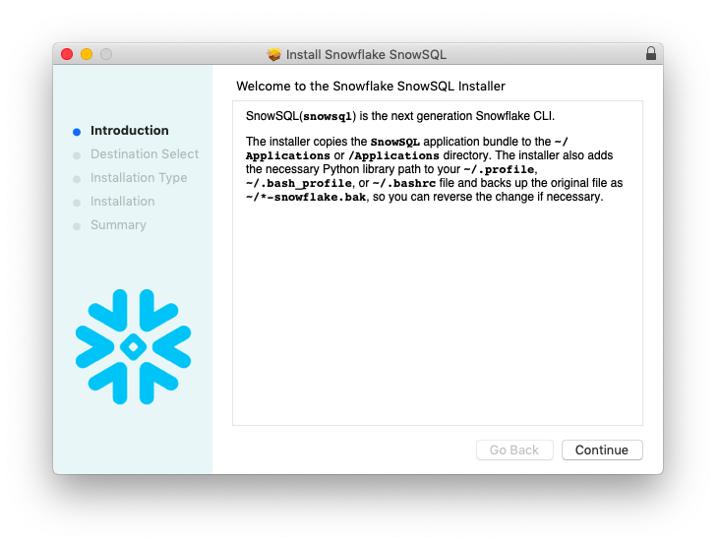 install snowflake snowsql