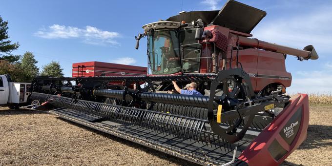 Harvest 2020 Success Stories: Draper Head Adjustments