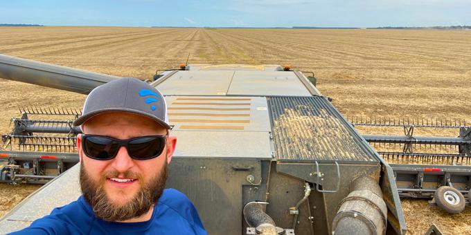 Harvest 2020 Success Stories: Derecho Damaged Bean Harvest