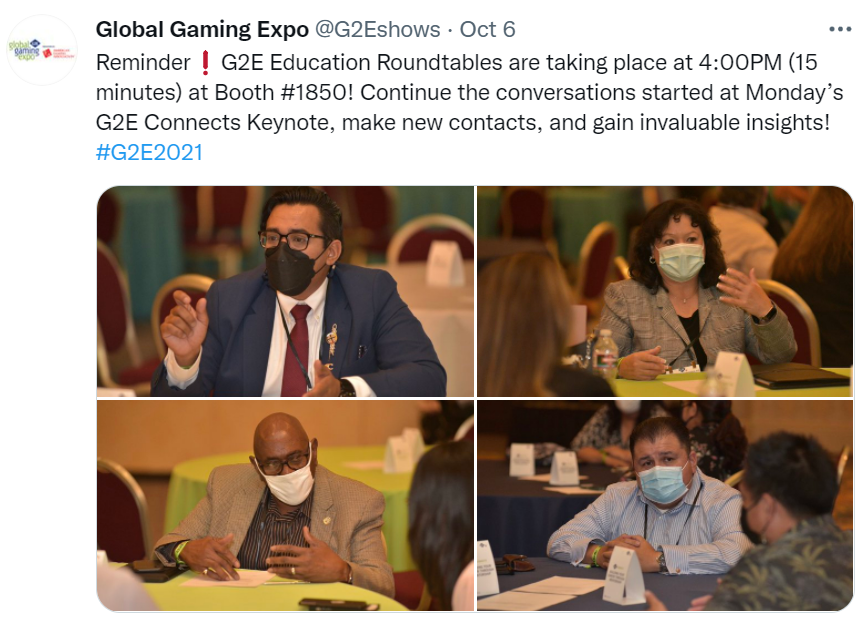 Four Takeaways From G2E 2021