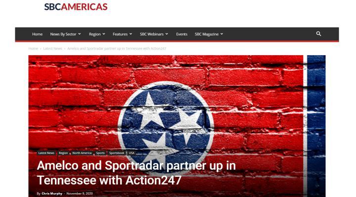 Amelco Sportradar Chalkline partnership powers Action247