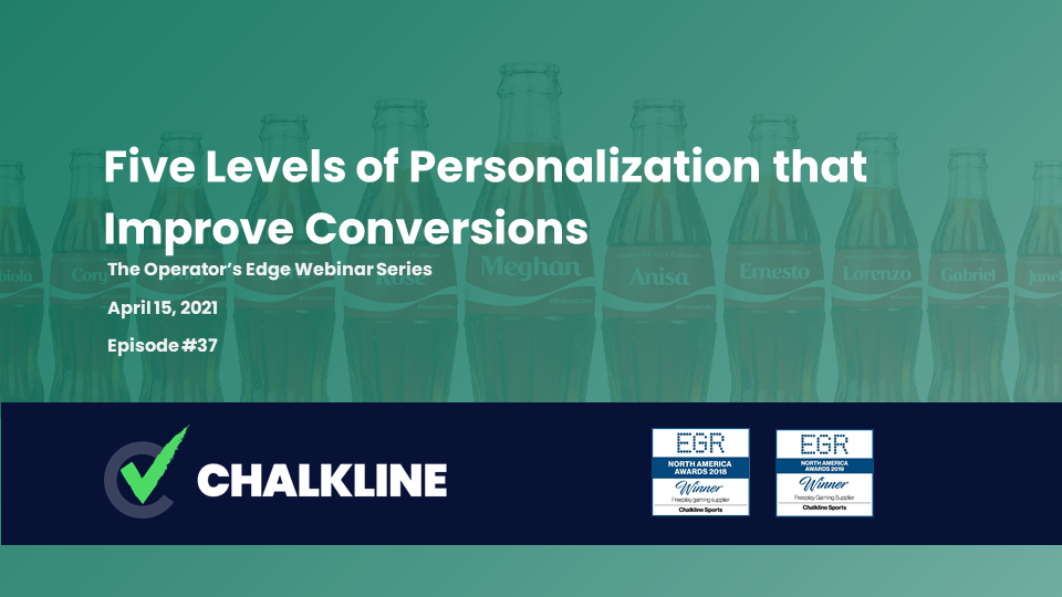 The Operator's Edge: Five Levels of Personalization that Improve Conversions