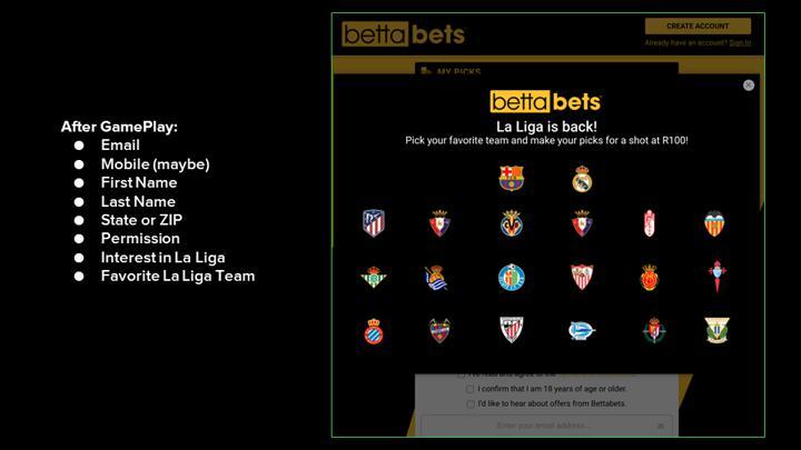Chalkline webinar personalization Bettabets
