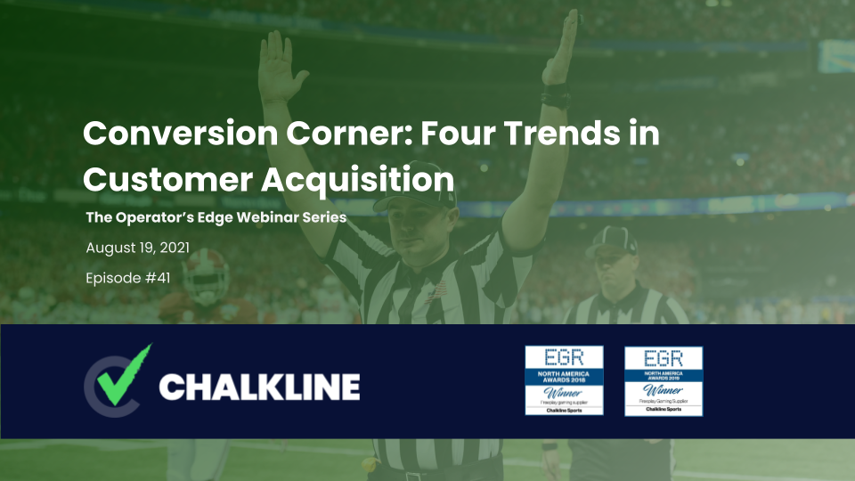 The Operator's Edge: Conversion Corner: Four Trends in Customer Acquisition