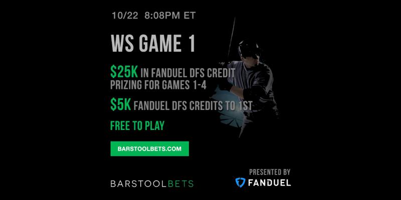 Barstool Bets presented by FanDuel
