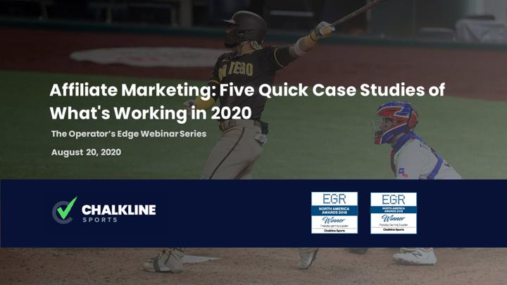 Chalkline Sports webinar affiliate marketing sports betting