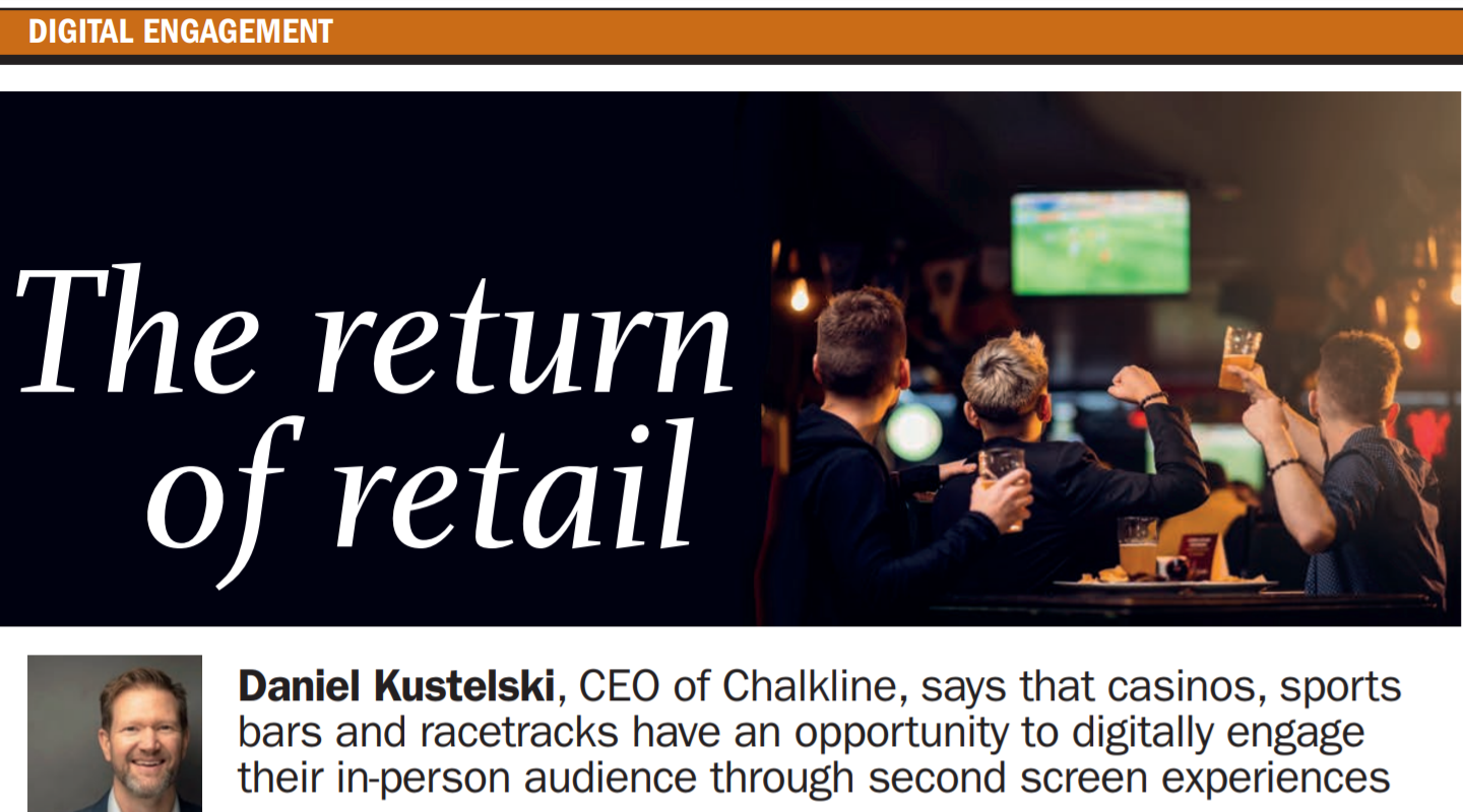 Return to Retail: Why Venue Operators Need a Second Screen Strategy