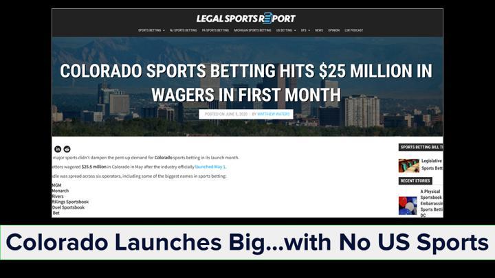Chalkline Sports webinar 2020 sports highlights Colorado sports betting