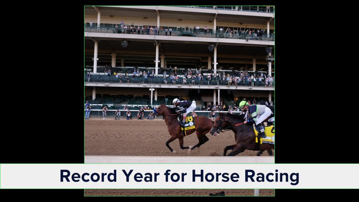 Chalkline Sports webinar 2020 sports highlights horse racing