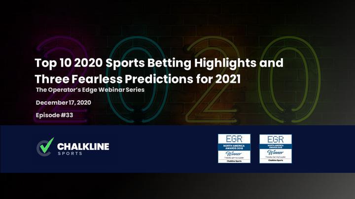 Chalkline Sports webinar 2020 sports betting highlights